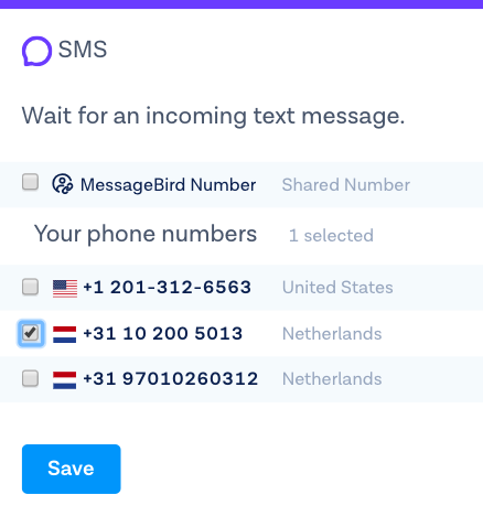 Forward SMS responses to my mobile phone – Support & Help